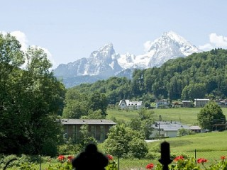 Der Blick aus dem Wohnzimmer, FeWo Rosenau Berchtesgaden in Berchtesgaden