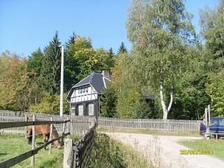Forsthaus Grünheide, Forsthaus Grünheide in Auerbach / Vogtland