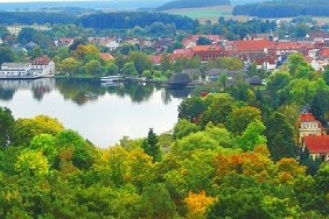 Die Krakower Seepromenade