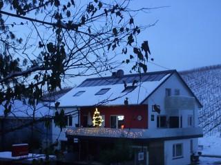 Gästehaus Sommertal im Winter 2010, Gästehaus Sommertal in Meersburg (Bodensee)