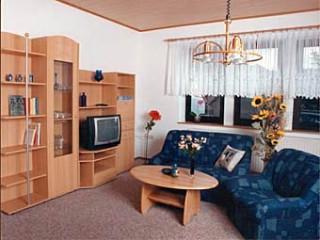 Teilansicht des Wohnzimmers in der Gästewohnung, Gästewohnung