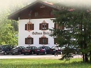 Hausansicht, Gasthaus Bäckeralm in Bayrischzell