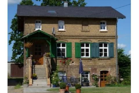Frontansicht Schäferhaus