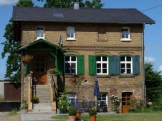 Frontansicht Schäferhaus, Gutshof Lanke | Ferienwohnung in Wandlitz