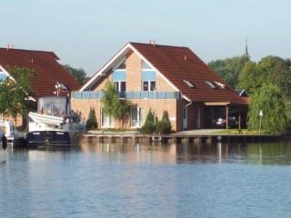 Frontseite, Haus Hafenblick in Weener
