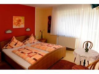 Schlafzimmer, Haus Notenau in Zell (Mosel)
