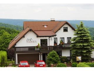 Hausansicht, Haus Waldblick Hampel | Ferienwohnung in Frauenwald