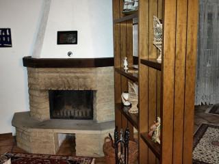 Kamin, Komfort Ferienhaus Mengelberg in Roschbach