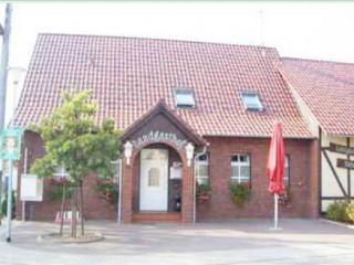 Hausansicht, Landgasthof Biebersdorf in Märkische Heide OT Biebersdorf