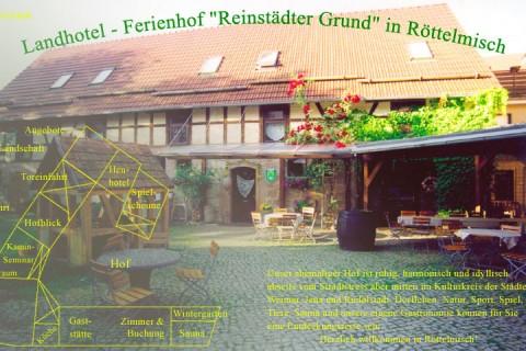 """Wilkommen im Landhotel - Ferienhof """"Reinstädter Grund"""""""