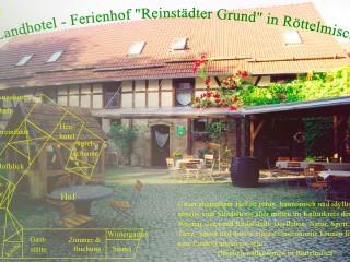 """Wilkommen im Landhotel - Ferienhof """"Reinstädter Grund"""", Hotel & Ferienhof bei Jena in Gumperda"""