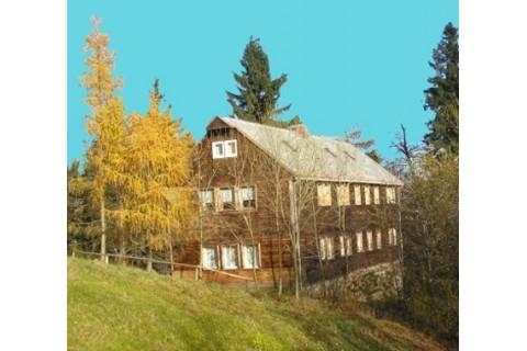 Hausansicht Lausitzer Hütte