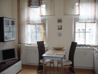 Wohn-Essbreich/ Apartment  Taubengasse 1, Moderne Apartments in Erfurt in Erfurt