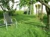 Sonne tanken im eigenen Garten