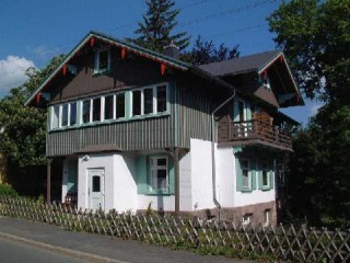Parkblick Hausansicht, Parkblick-Appartements Oberhof in Oberhof, Thüringen