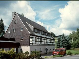Hausansicht, Pension Alte Mühle in Dorfchemnitz bei Sayda