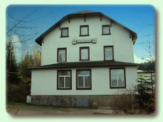 Hausansicht, Pension   Haus Anna in Altenberg, OT Waldbärenburg Erzgebirge