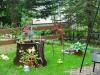 Unser schöner Springbrunnen im Garten