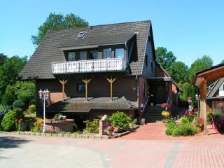Haupthaus / Rezeption, Pension Schmidt bei Hamburg in Rosengarten, Kreis Harburg