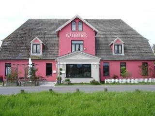 frontsicht, Pension und Gasthof Waldblick in Rostock-Stuthof