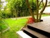 Blick auf den hinteren Garten