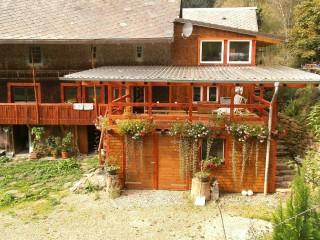 Fewo überdachte Terasse, Schwäblehof in Triberg im Schwarzwald