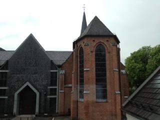 Kirche St. Josef-Krahenhöhe, Blick aus dem Fenster, St. Josef - Katholische Kirchengemeinde in Solingen