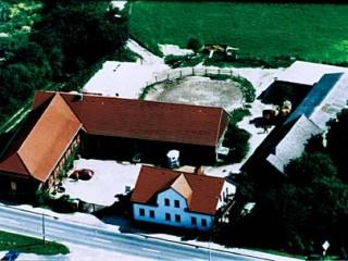 Pension Ewaldhof Hofansicht, Urlaub auf dem Bauernhof Pension Ewaldhof in Strausberg OT Ruhlsdorf