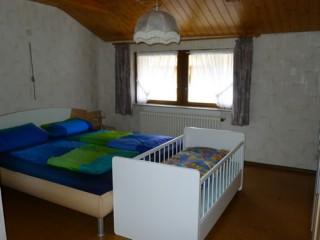 Schlafzimmer unten, Vetterhansenhof in Mühlenbach (Baden)