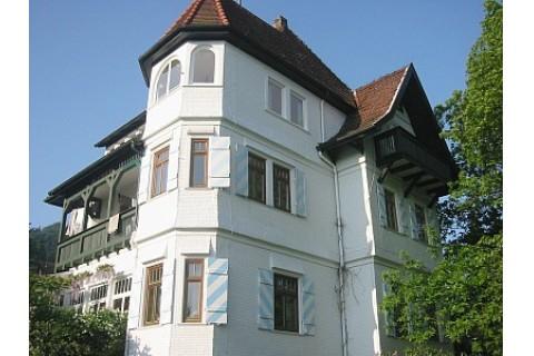 Villa Himmelsblau - im obersten Stock ist die Ferienwohnung