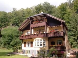 Villa, Villa Liliengrund in Eisenach, Thüringen