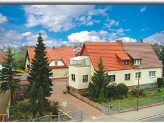 Hausansicht, Pension Lehmann Forst Lausitz in Forst (Lausitz)